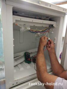 """Ремонт холодильника стинол в Серпухове. Испаритель """"Ноу фрост"""" и замена тэна"""